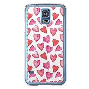 Loud Universe Samsung Galaxy S5 Love Valentine Printing Files A Valentine 51 Printed Transparent Edge Case - White/Red
