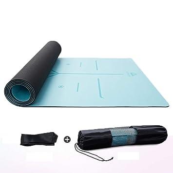 ZEQUAN Yoga Mat 4Colors Fitness Mat Es Adecuado para Todo ...