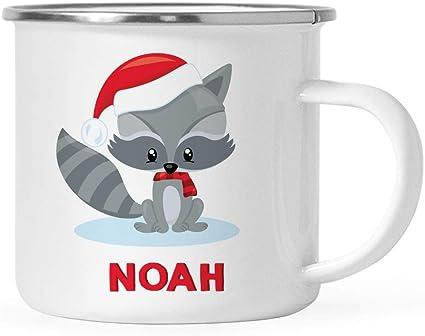 Engraved Enamel Mug Personalised Hot Chocolate Mug