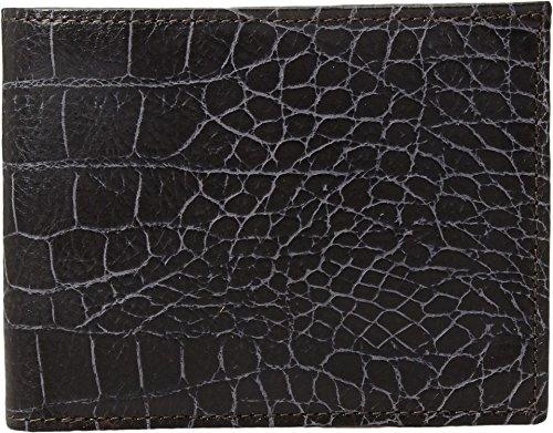 Bosca Mens 8 Pocket - Bosca Vintage Crocco 8 Pocket Executive Wallet