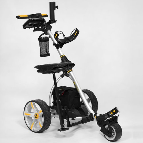 Bat-Caddy X3R Electric Golf Caddy + FREE Accessory Pack - Power Caddy Golf Carts