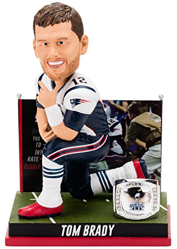 Forever Collectibles Tom Brady New England Patriots Super Bowl Special Edition - 4h Win Bobblehead