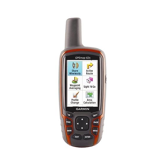 amazon com garmin gpsmap 62s handheld gps navigator home audio rh amazon com Garmin 62s Operation Garmin GPSMAP 62s Handheld GPS Receiver