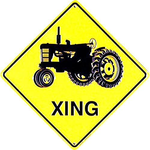 - Signs 4 Fun Sdxt Tractor Xing Crossing Sign