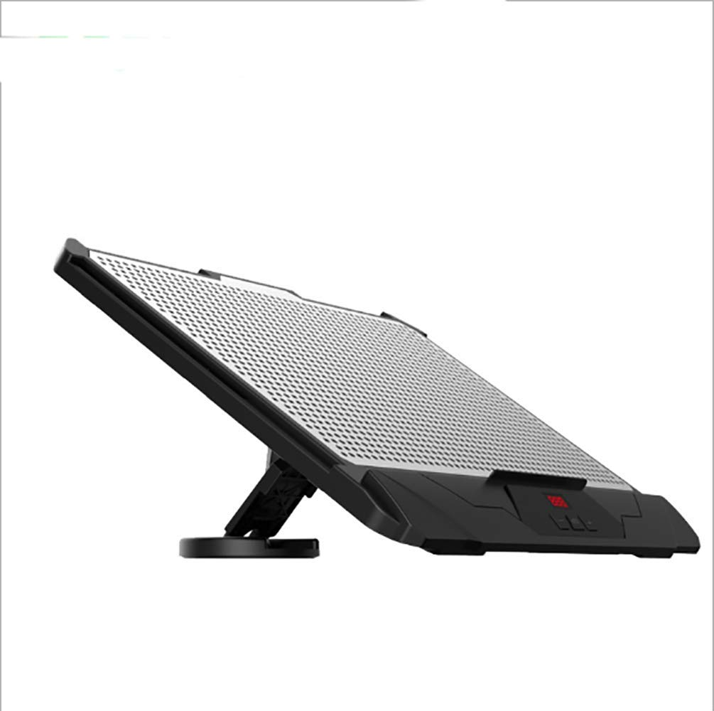HERAHQ Notebook Cooler, with Dual Fan Design, Powerful Cooling, Quiet Design, 15.6-Inch Notebook, Strong Compatibility
