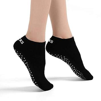 Non-slip Pilates Yoga Cotton Sports Grip Socks Fitness Gym XM