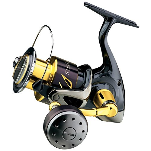 - Shimano Stella SW STL6000SWBPG Spinning Fishing Reel, Gear Ratio: 4.6:1