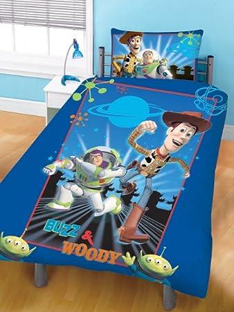 Disney Toy Story 3 Wende Bettwäsche Mit Woody Und Buzz Lightyear