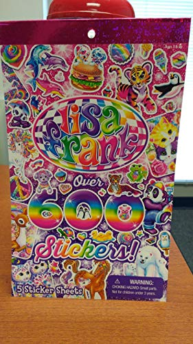 Lisa Frank Over 600 Stickers (Original Version) (Original Version)