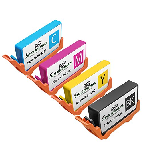 Speedy Inks - 4PK Remanufactured Replacement for HP 564XL...