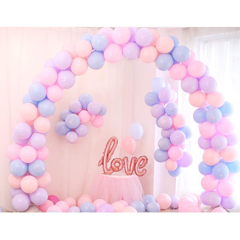 Balloon Arch Kit, Forniture di Nozze Festa di Compleanno Festa di Laurea Decorazione Scena Romantica colore Fresco Coloreato Facilità di InsDimensionezione (colore   B)