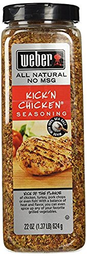 Weber Kick'n Chicken 22oz (Pack of 6) by Weber