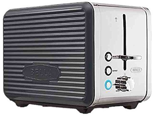 Bella 14177 Gray Linea 2 Slice Toaster Grey