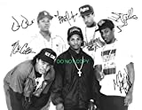 NWA N.W.A. rap legends reprint signed autographed