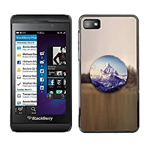 SKCASE Center / Funda Carcasa - Paisaje de montaña;;;;;;;; - Blackberry Z10