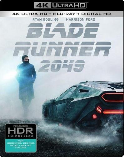 Blade Runner 2049 SteelBook (4K Ultra HD Blu-ray+Blu-ray+Digital HD) by