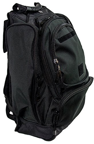 The Ultimate Bounty Hunter Backpack/Tactical MOLLE Multipurpose Rucksack (Midnight Black)