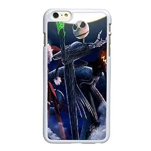 Funda iPhone 6 6S 4,7 pulgadas del teléfono celular funda blanca extraño mundo de Jack E6C2MA