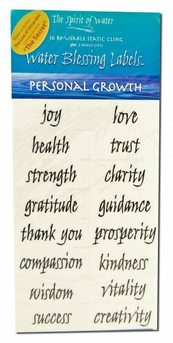 Water Blessing Labels: Personal -