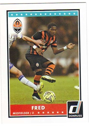 fan products of 2015 Panini Donruss Soccer #24 Fred Shakhtar Donetsk