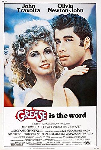 Posterazzi Grease Us Olivia Newton John Travolta 1978. Paramount Pictures/Courtesy Everett Collection Movie Masterprint Poster Print (11 x 17)