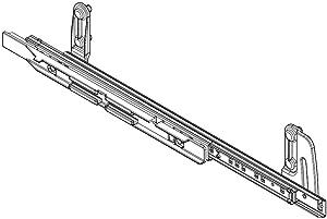 Whirlpool W10822166 Dishwasher Lower Dishrack Slide Rail, Right Genuine Original Equipment Manufacturer (OEM) Part