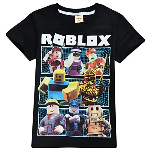 Kids Boys Roblox Voetbalspel Family Gaming Team Top