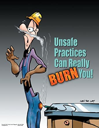 Unsafe Practices Workplace Safety Poster: Industrial ...