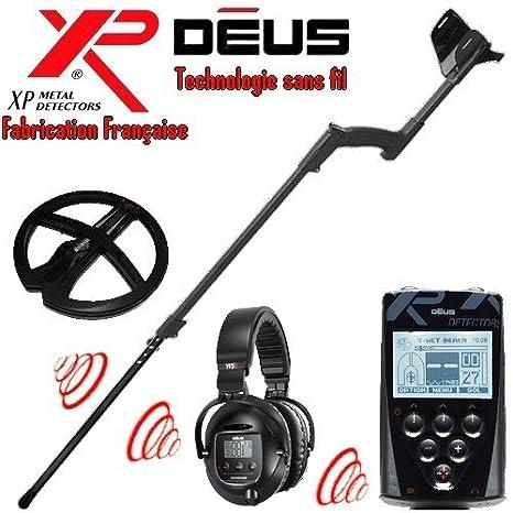 Metal Detectors Xp-Detector De metales Deus Full 2-Tecnología inalámbrica con mando a