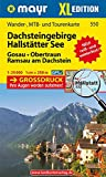 Dachsteingebirge - Hallstätter See XL: Wander-, MTB- und Tourenkarte 1:25000 GPS-genau (Mayr Wanderkarten)