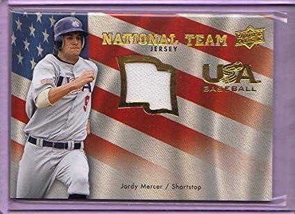 a4d68bcf0 Image Unavailable. Image not available for. Color  2008 Upper Deck USA  National Team Jerseys  JM Jordy Mercer