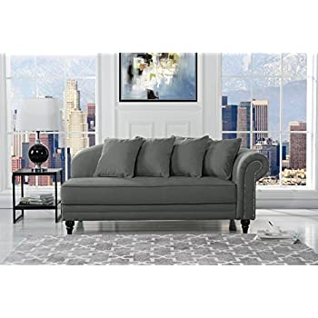 Amazon Com Chaise Chair Lounge Sofa With Storage For