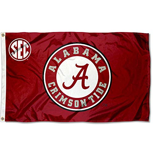 College Flags and Banners Co. Alabama Crimson Tide SEC 3x5 Flag