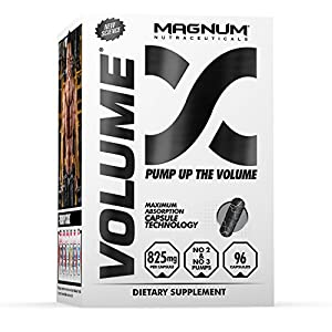 Magnum Nutraceuticals Volume 96 Capsules Energy Boost Improve Cognitive Functions Enhance Blood Flow Reduce Recovery Time