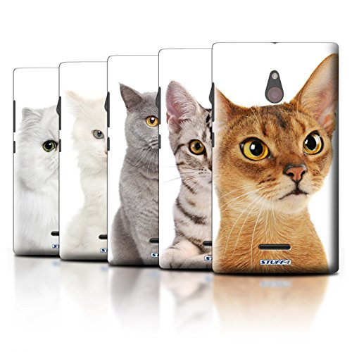 STUFF4 Phone Case / Cover for Nokia XL / Multipack / Cat Breeds Collection