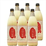Natural sweet sake 900mlX6 this set of domestic rice 100 percent use rice Koji
