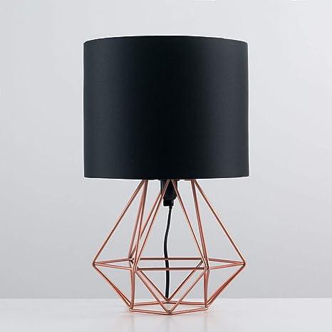 Lámpara De Mesa Sdjghf Lámpara De Mesa Geométrica Retro Decorativa ...