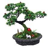 Artificial Pine Tree Bonsai Best Gift Home Office Decor