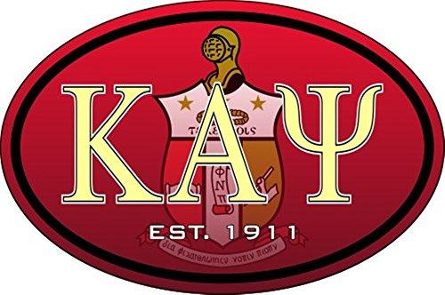 Greekgear Kappa Alpha Psi Color Oval Decal