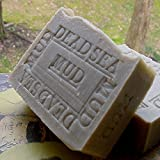 Natural Dead Sea Mud Bar Soap with Shea Butter (Face and Body Bar) Licorice Scented
