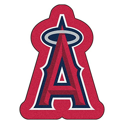 (FANMATS MLB Los Angeles Angels Mascot Mat, Team Color, One Size)