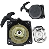 HATCHMATIC Mayitr Recoil Pull Starter + Cog Part Gas Scooter Lawn Mower Parts