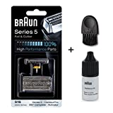 Braun Shaver Lubricating Oil - Braun Cutter Combi Pack Series 5 with cleaning brush and oil 7ml (51S)