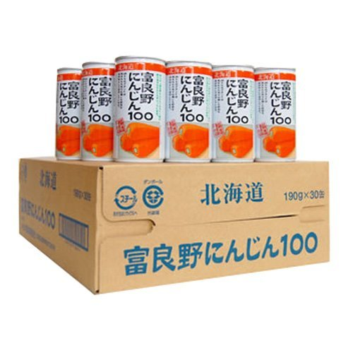 [3CS] JA Furano Furano carrot 100 (190ml cans X30 cans) X3 boxes