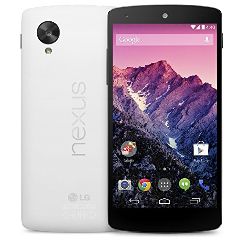 LG Google Nexus 5 D821 Factory Unlocked Phone, 32GB, White International Version No Warranty (Certified - Phone Hotspot With Lg