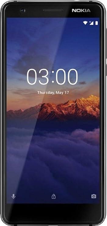 Nokia 3.1  Black, 16  GB  Smartphones