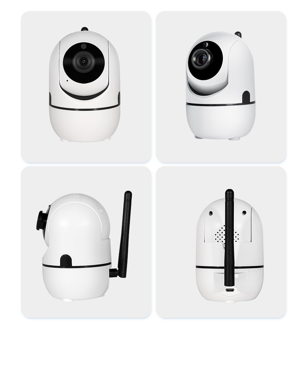 Wi-Fi Motion Tracking Motion Detection Mini IP Camera FOLLOWS Your Movement