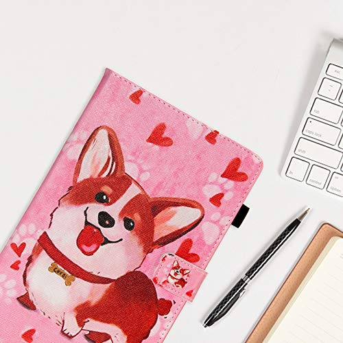 Galaxy Tab A 10.1 case 2019, SM-T510 Case, Dteck Premium Shock Proof Stand Folio Case with Soft TPU Back Cover for 2019 Samsung Galaxy Tab A 10.1 inch Tablet [SM-T510/T515/T517], Cute Shiba
