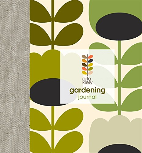 Orla Kiely: Gardening Journal - Buy Online in Oman  | Diary