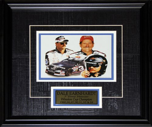 (Dale Earnhardt Sr. Nascar mini photo frame)